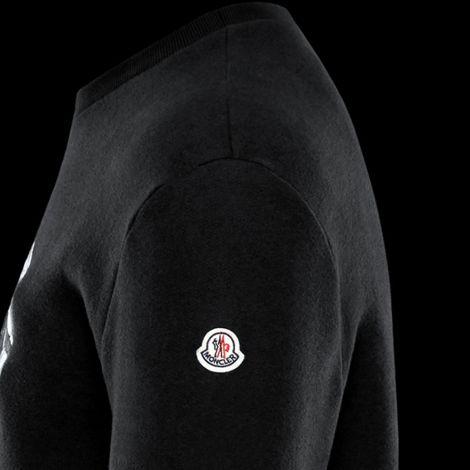 Moncler Sweatshirt Siyah #Moncler #Sweatshirt #MonclerSweatshirt #Erkek #Moncler #