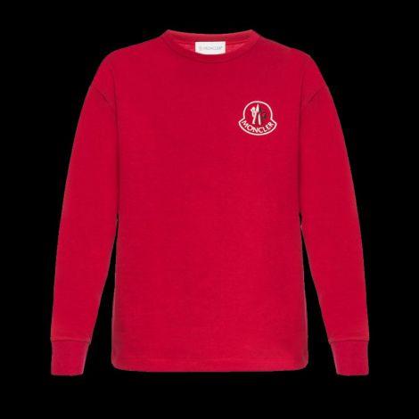 Moncler Sweatshirt Kith Kırmızı #Moncler #Sweatshirt #MonclerSweatshirt #Erkek #MonclerKith #Kith