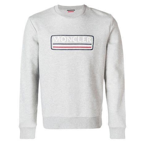 Moncler Sweatshirt Tri Gri #Moncler #Sweatshirt #MonclerSweatshirt #Erkek #MonclerTri #Tri