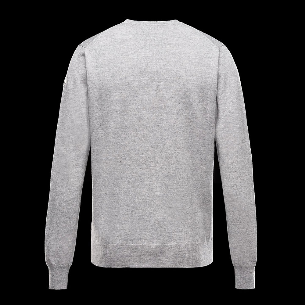 Moncler Crewneck Sweatshirt Gri - 1 #Moncler #MonclerCrewneck #Sweatshirt - 2
