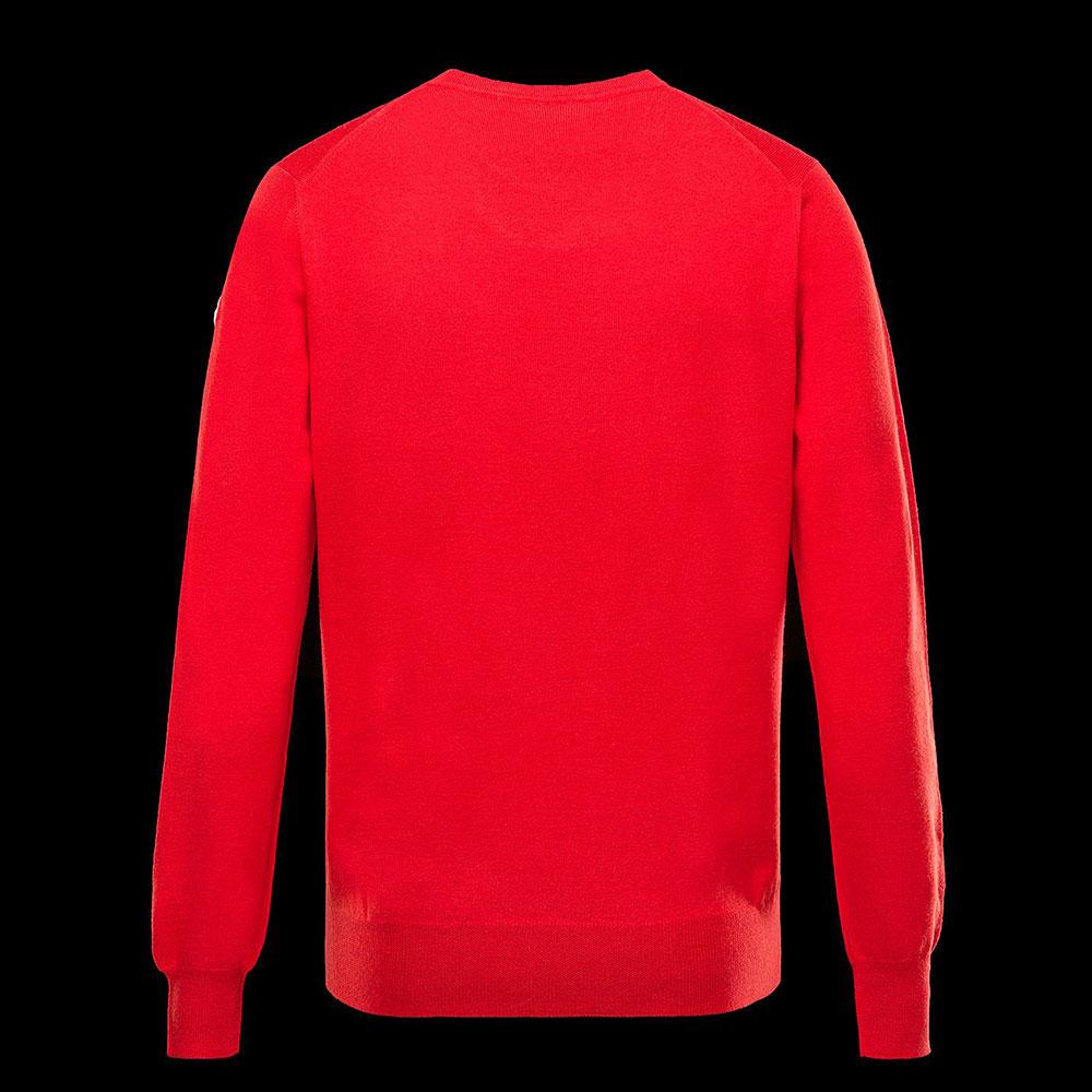 Moncler Crewneck Sweatshirt Kırmızı - 2 #Moncler #MonclerCrewneck #Sweatshirt - 2