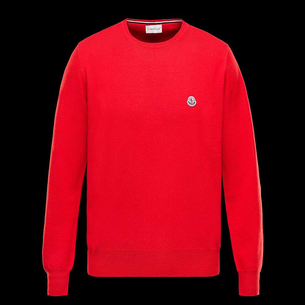 Moncler Crewneck Sweatshirt Kırmızı - 2 #Moncler #MonclerCrewneck #Sweatshirt