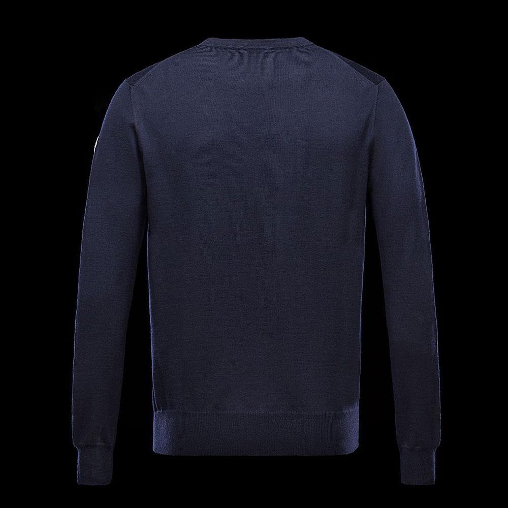 Moncler Crewneck Sweatshirt Mavi - 3 #Moncler #MonclerCrewneck #Sweatshirt - 2