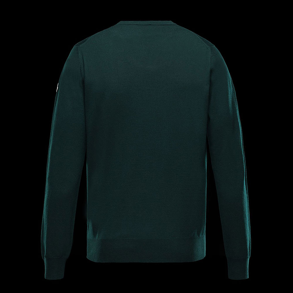 Moncler Crewneck Sweatshirt Yeşil - 4 #Moncler #MonclerCrewneck #Sweatshirt - 2