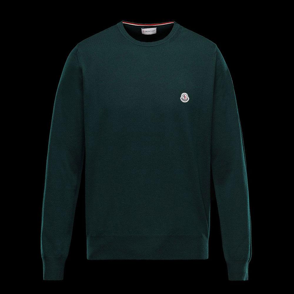 Moncler Crewneck Sweatshirt Yeşil - 4 #Moncler #MonclerCrewneck #Sweatshirt