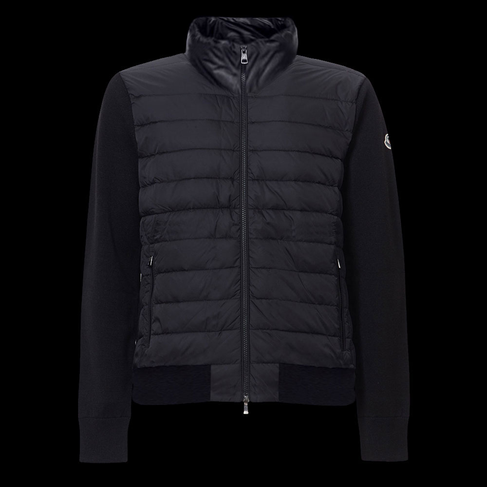 Moncler Zipped Sweatshirt Siyah - 35 #Moncler #MonclerZipped #Sweatshirt