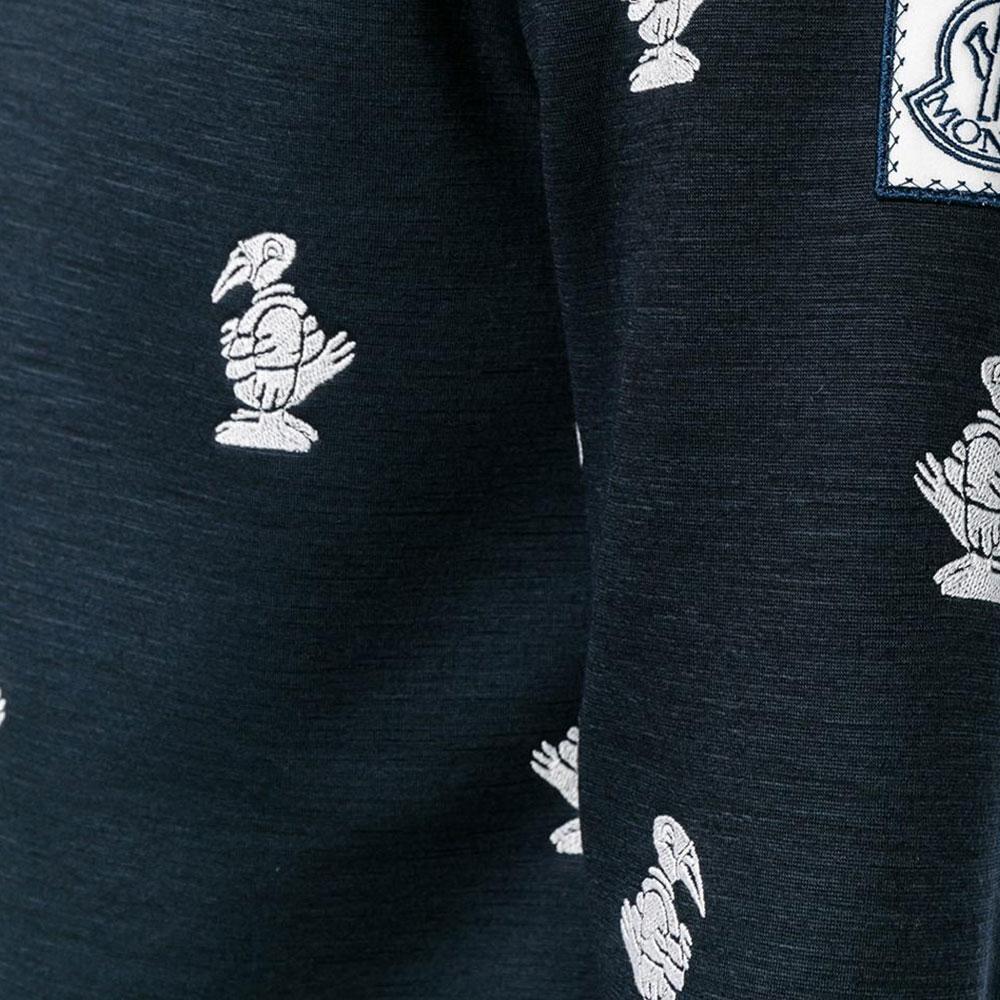 Moncler Duck Sweatshirt Siyah - 36 #Moncler #MonclerDuck #Sweatshirt - 2