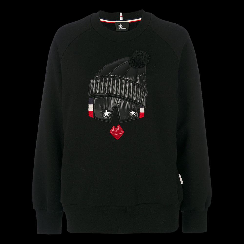 Moncler Grenoble Sweatshirt Siyah - 4 #Moncler #MonclerGrenoble #Sweatshirt