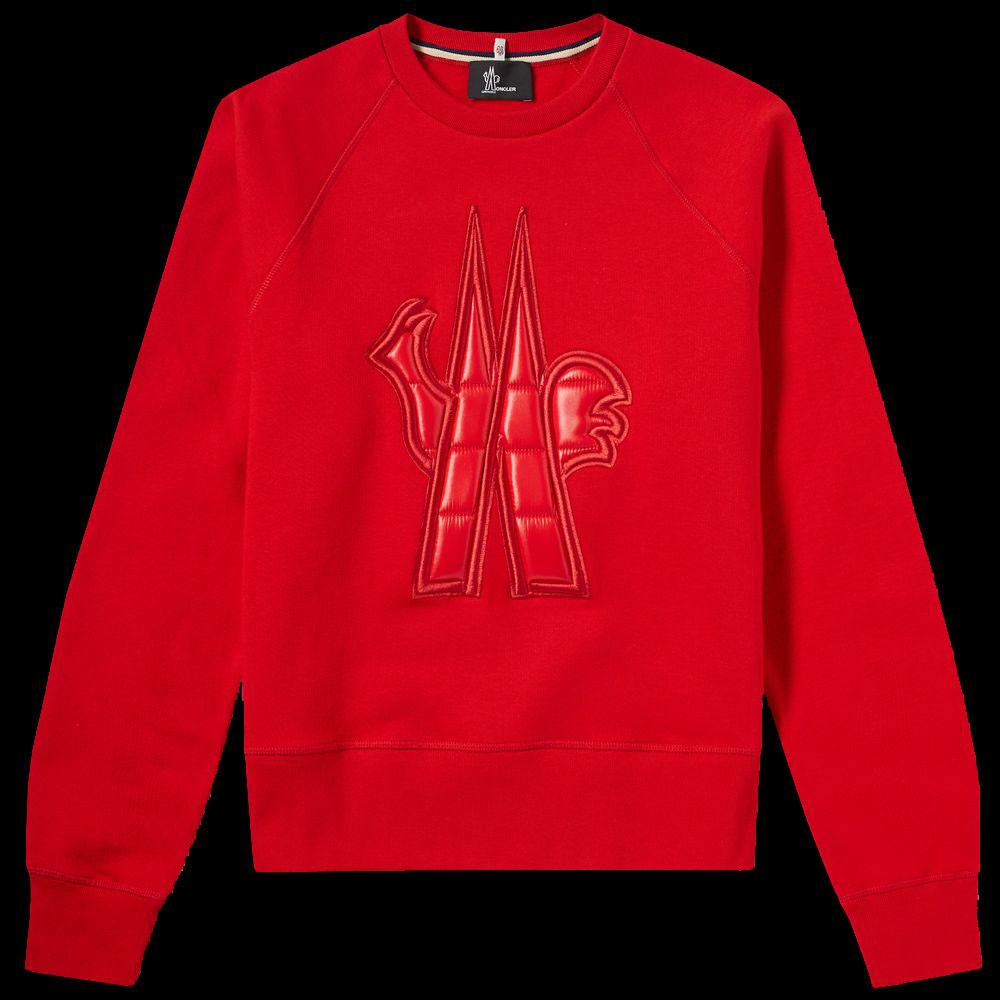 Moncler Grenoble Sweatshirt Kırmızı - 34 #Moncler #MonclerGrenoble #Sweatshirt