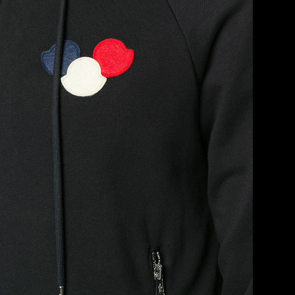 Moncler Logo Sweatshirt Siyah - 33 #Moncler #MonclerLogo #Sweatshirt - 2