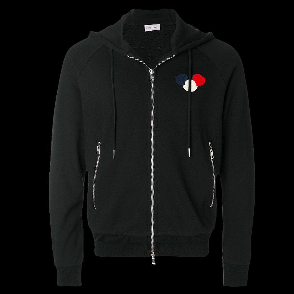 Moncler Logo Sweatshirt Siyah - 33 #Moncler #MonclerLogo #Sweatshirt
