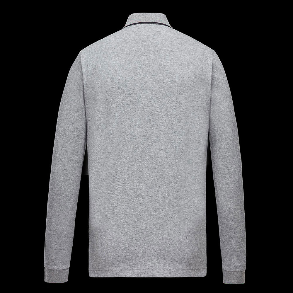 Moncler Polo Sweatshirt Gri - 5 #Moncler #MonclerPolo #Sweatshirt - 2
