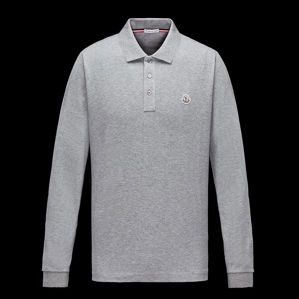 Moncler Polo Sweatshirt Gri - 5 #Moncler #MonclerPolo #Sweatshirt