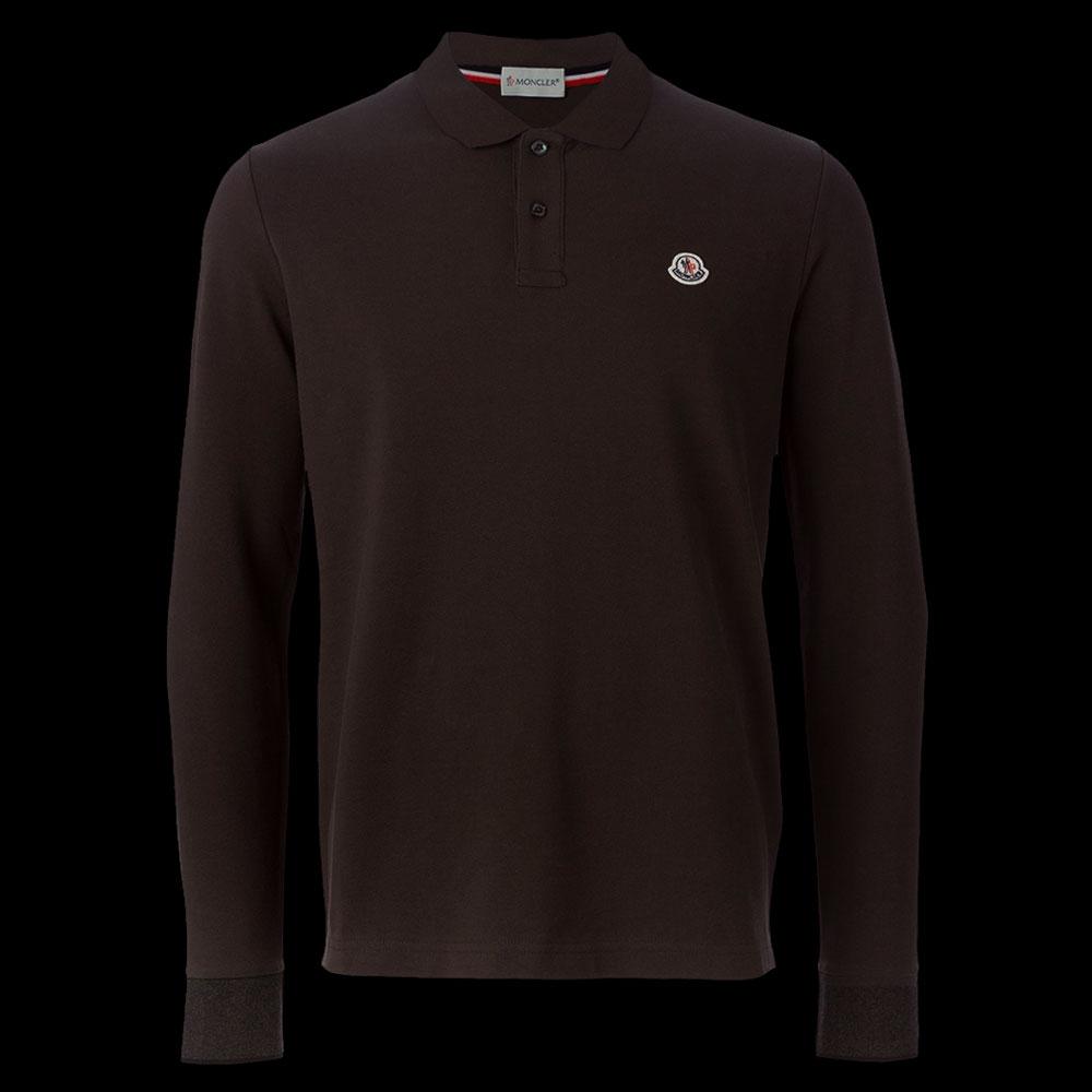 Moncler Polo Sweatshirt Kahverengi - 18 #Moncler #MonclerPolo #Sweatshirt