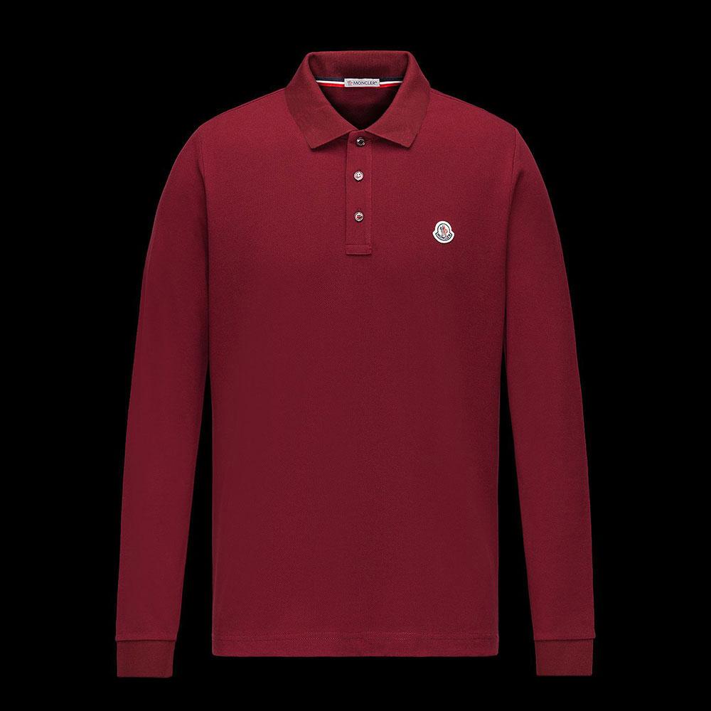Moncler Polo Sweatshirt Kestane - 6 #Moncler #MonclerPolo #Sweatshirt