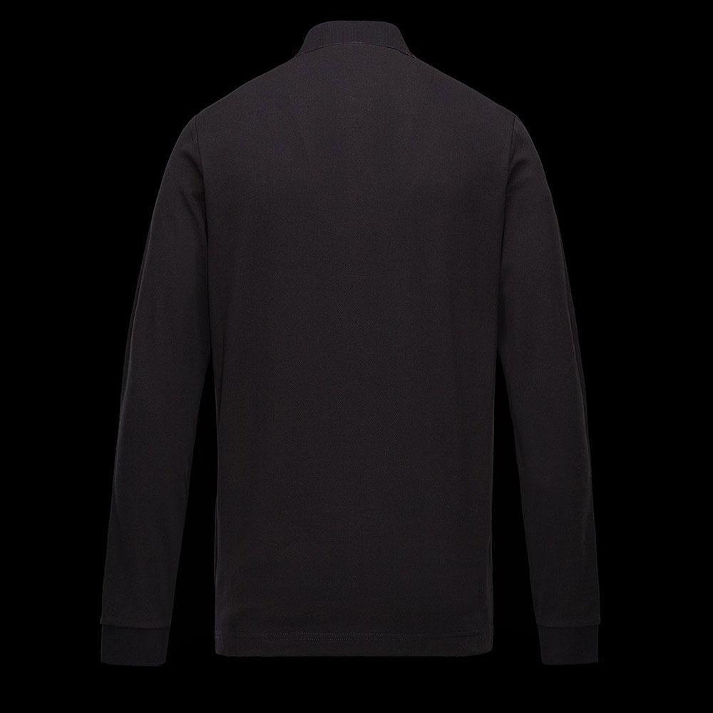 Moncler Polo Sweatshirt Siyah - 8 #Moncler #MonclerPolo #Sweatshirt - 2