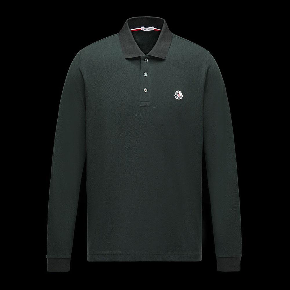 Moncler Polo Sweatshirt Yeşil - 9 #Moncler #MonclerPolo #Sweatshirt