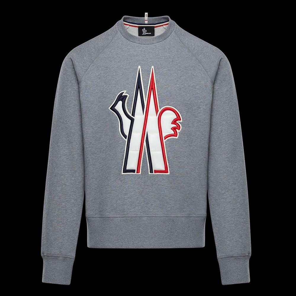 Moncler Grenoble Sweatshirt Koyu Gri - 23 #Moncler #MonclerGrenoble #Sweatshirt