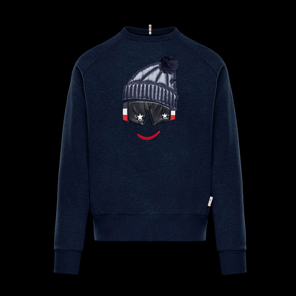 Moncler Grenoble Sweatshirt Siyah - 37 #Moncler #MonclerGrenoble #Sweatshirt