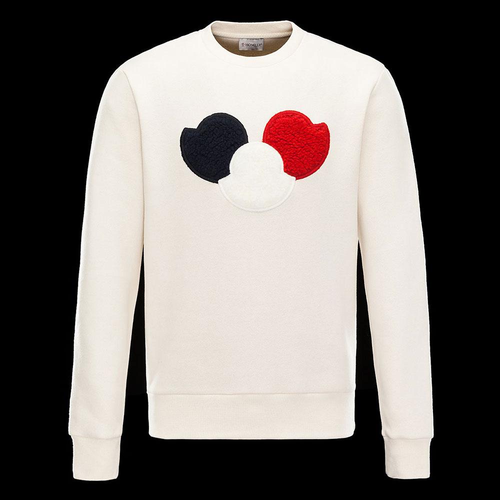 Moncler Sweatshirt Beyaz - 10 #Moncler #Moncler #Sweatshirt