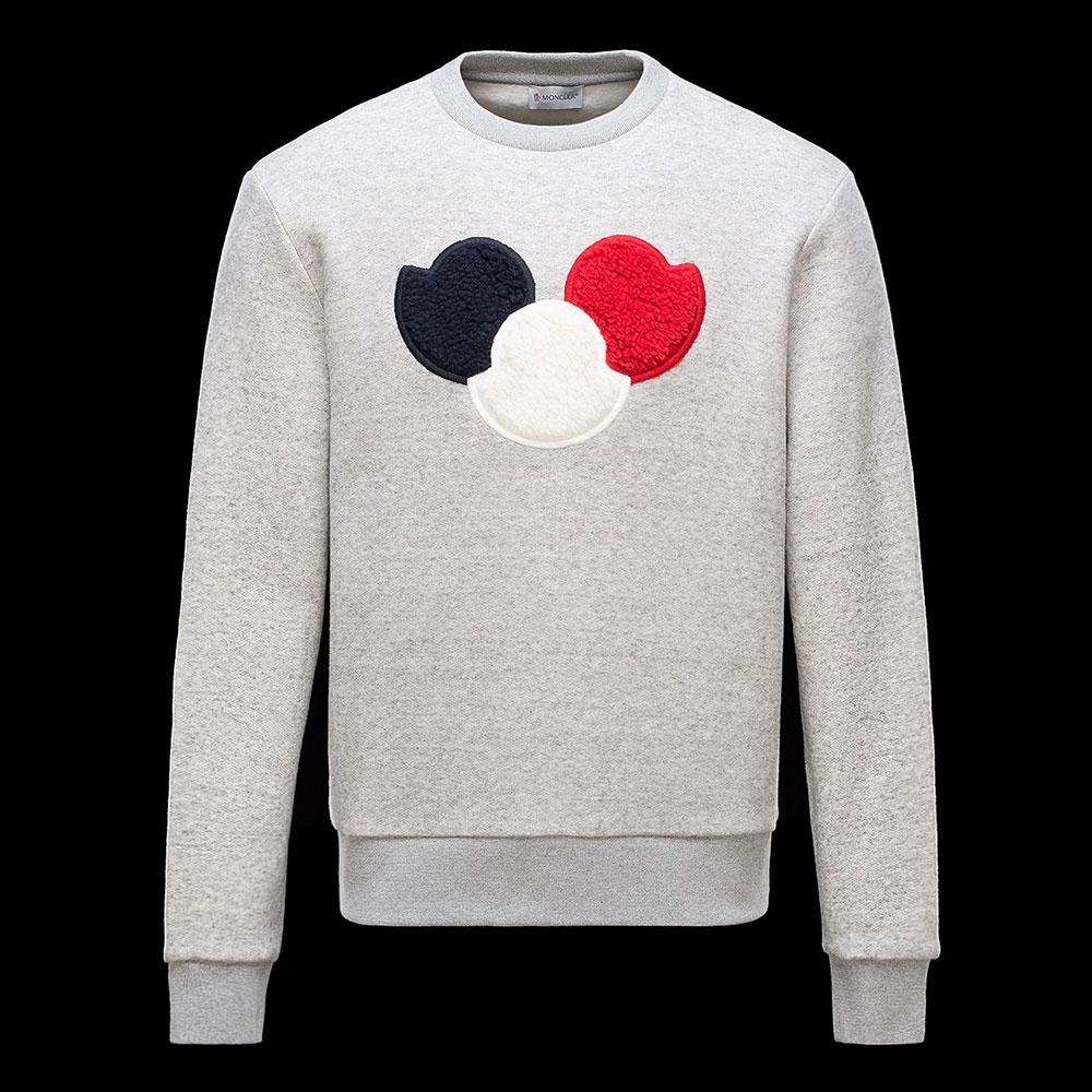 Moncler Sweatshirt Gri - 11 #Moncler #Moncler #Sweatshirt