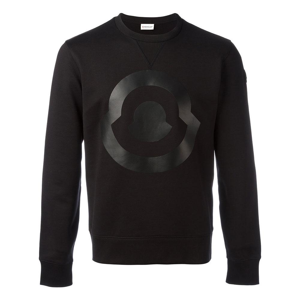 Moncler Logo Sweatshirt Siyah - 21 #Moncler #MonclerLogo #Sweatshirt