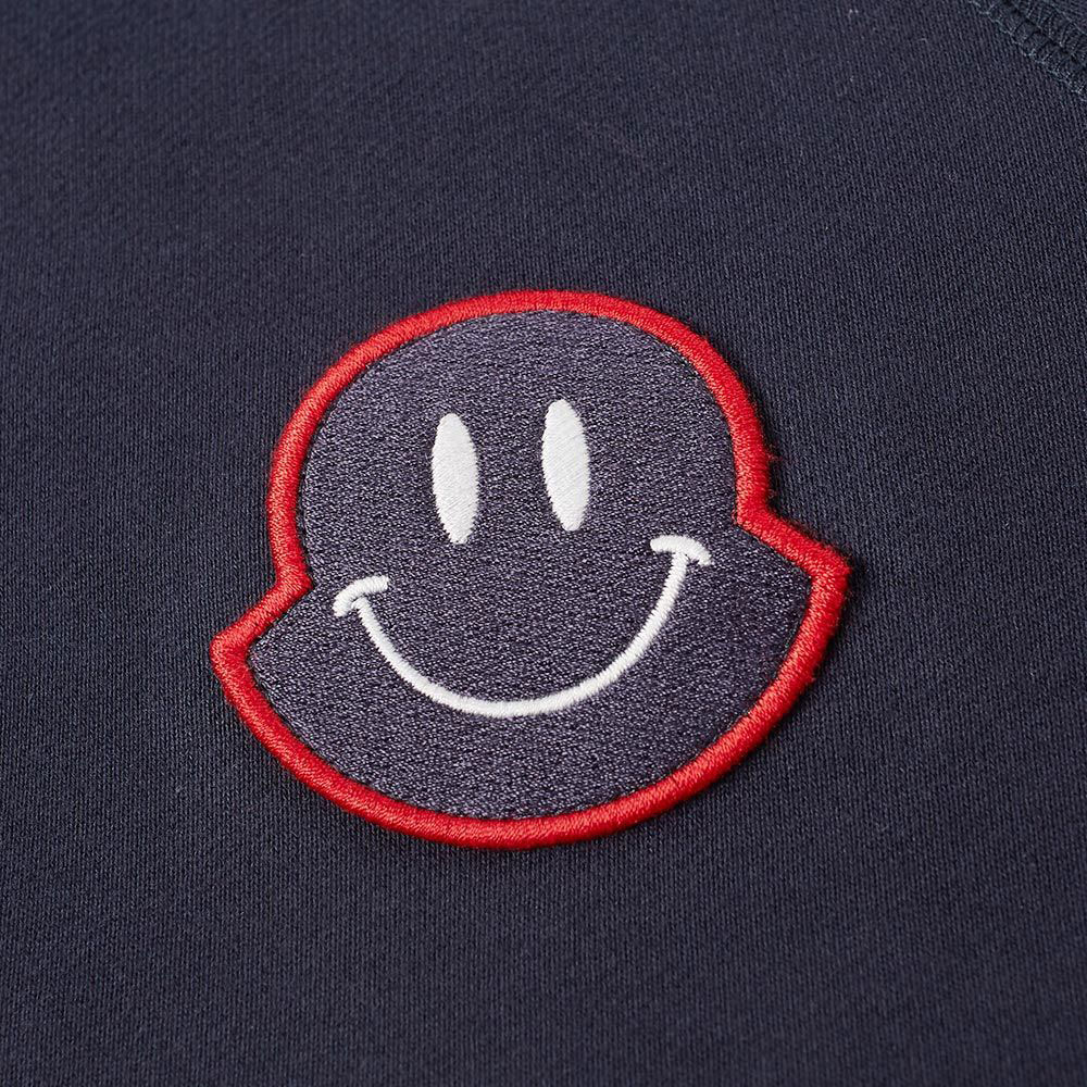 Moncler Smiley Sweatshirt Lacivert - 32 #Moncler #MonclerSmiley #Sweatshirt - 2