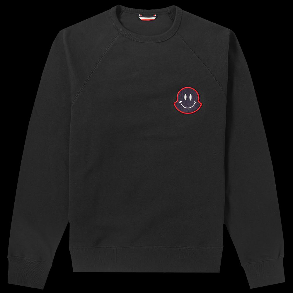 Moncler Smiley Sweatshirt Siyah - 31 #Moncler #MonclerSmiley #Sweatshirt