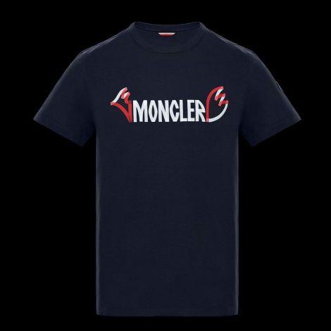 Moncler Tişört Genius Lacivert #Moncler #Tişört #MonclerTişört #Erkek #MonclerLogo #Logo