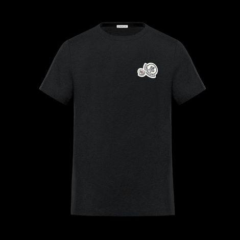 Moncler Tişört Iconic Siyah #Moncler #Tişört #MonclerTişört #Erkek #MonclerIconic #Iconic