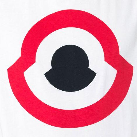 Moncler Tişört Maglia Beyaz #Moncler #Tişört #MonclerTişört #Erkek #MonclerMaglia #Maglia