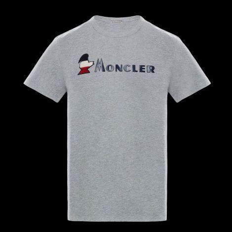 Moncler Tişört Logo Gri #Moncler #Tişört #MonclerTişört #Erkek #MonclerLogo #Logo