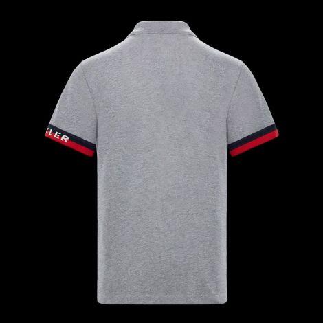 Moncler Tişört Polo Gri #Moncler #Tişört #MonclerTişört #Erkek #MonclerPolo #Polo