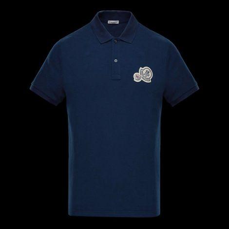 Moncler Tişört Polo Mavi #Moncler #Tişört #MonclerTişört #Erkek #MonclerPolo #Polo