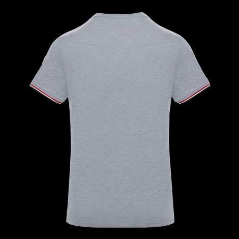 Moncler Tişört Stripe Gri #Moncler #Tişört #MonclerTişört #Erkek #MonclerStripe #Stripe