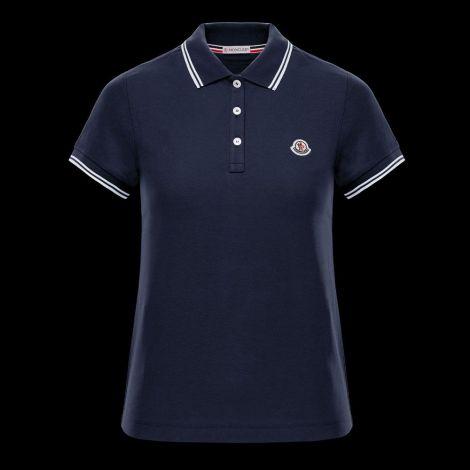 Moncler Tişört Polo Lacivert #Moncler #Tişört #MonclerTişört #Kadın #MonclerPolo #Polo