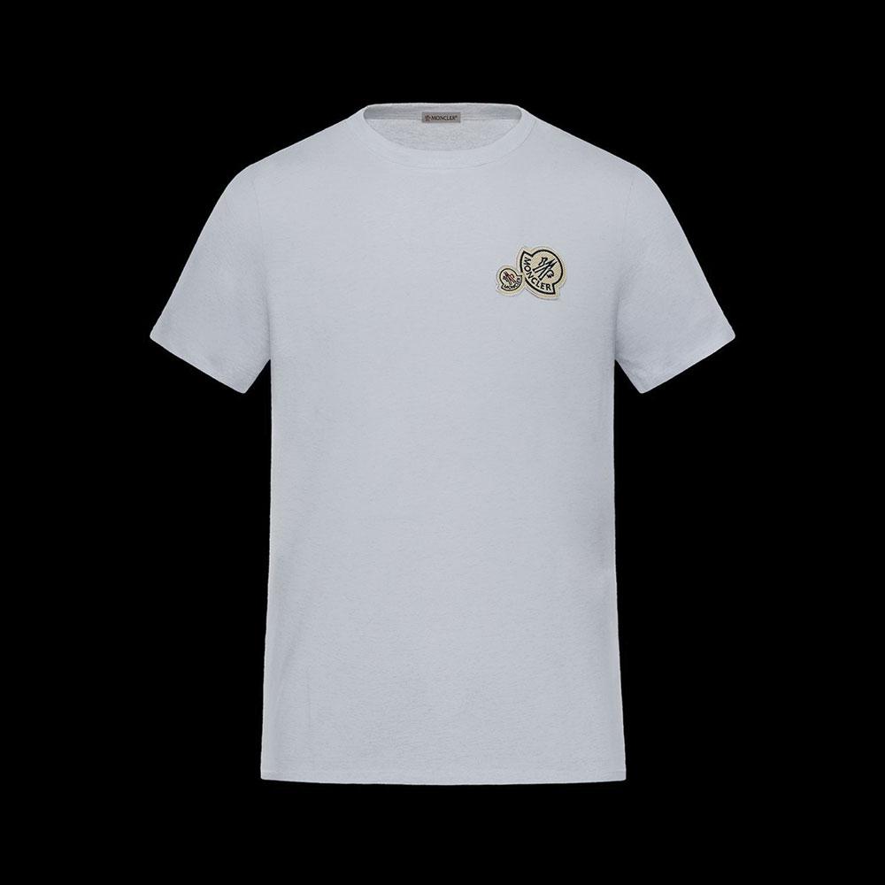 Moncler Iconic Tişört Beyaz - 27 #Moncler #MonclerIconic #Tişört
