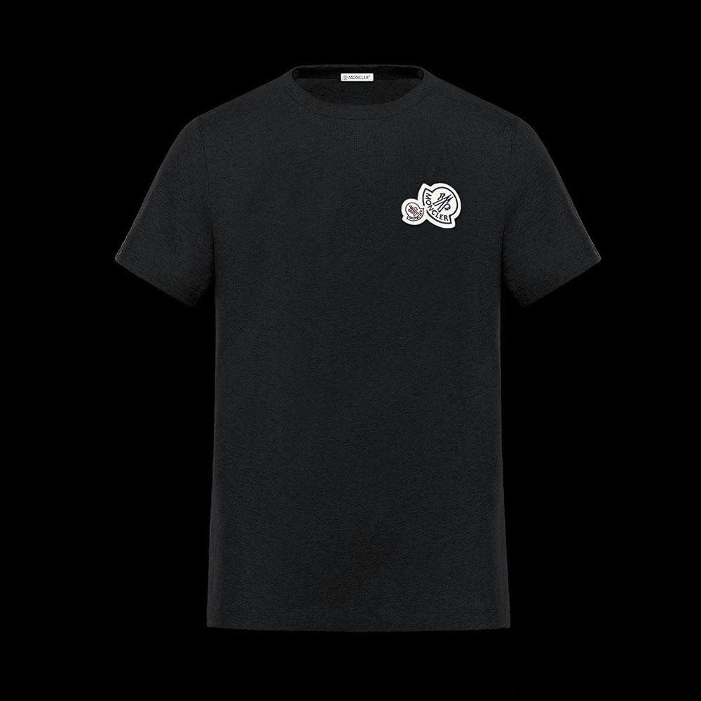 Moncler Iconic Tişört Siyah - 28 #Moncler #MonclerIconic #Tişört