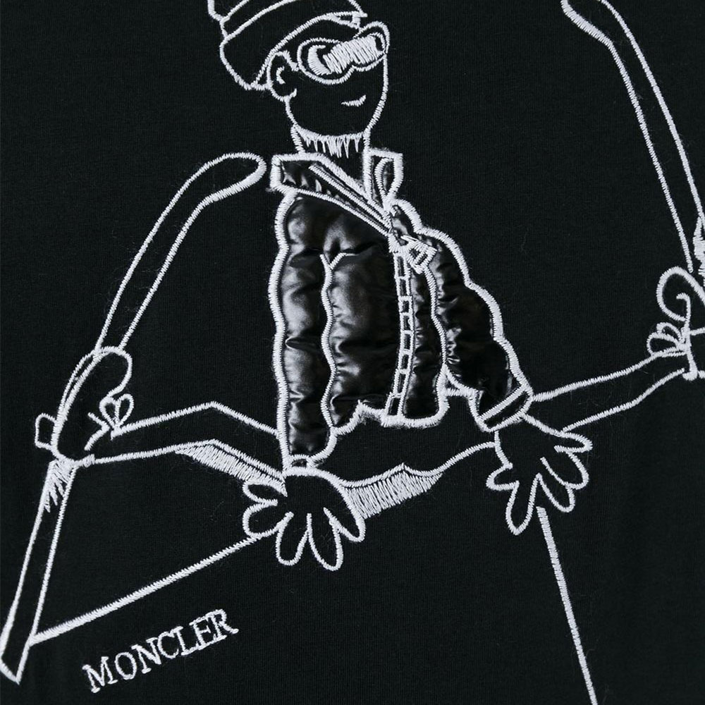 Moncler Grenoble Tişört Siyah - 13 #Moncler #MonclerGrenoble #Tişört - 2