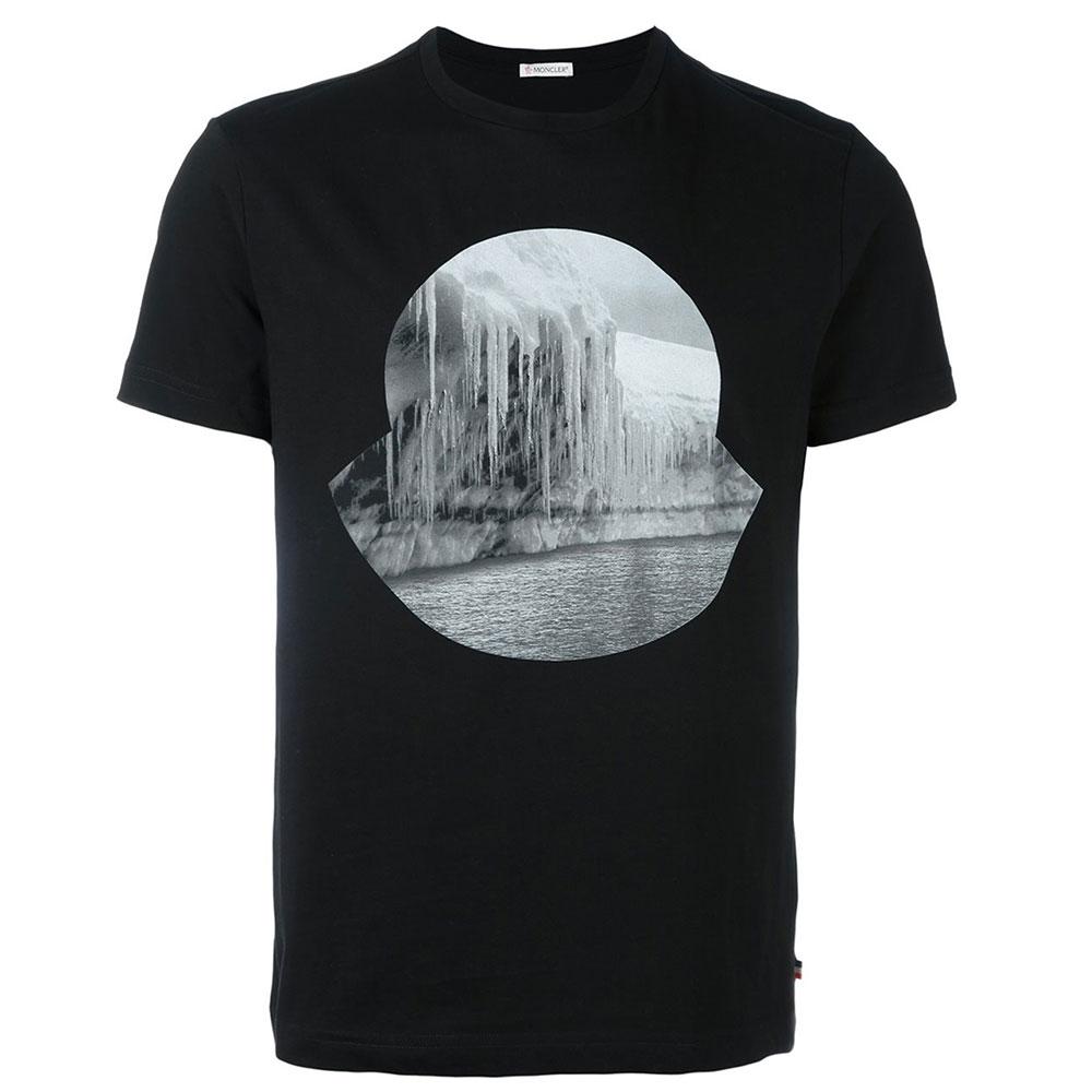 Moncler İcicle Tişört Siyah - 24 #Moncler #Monclerİcicle #Tişört