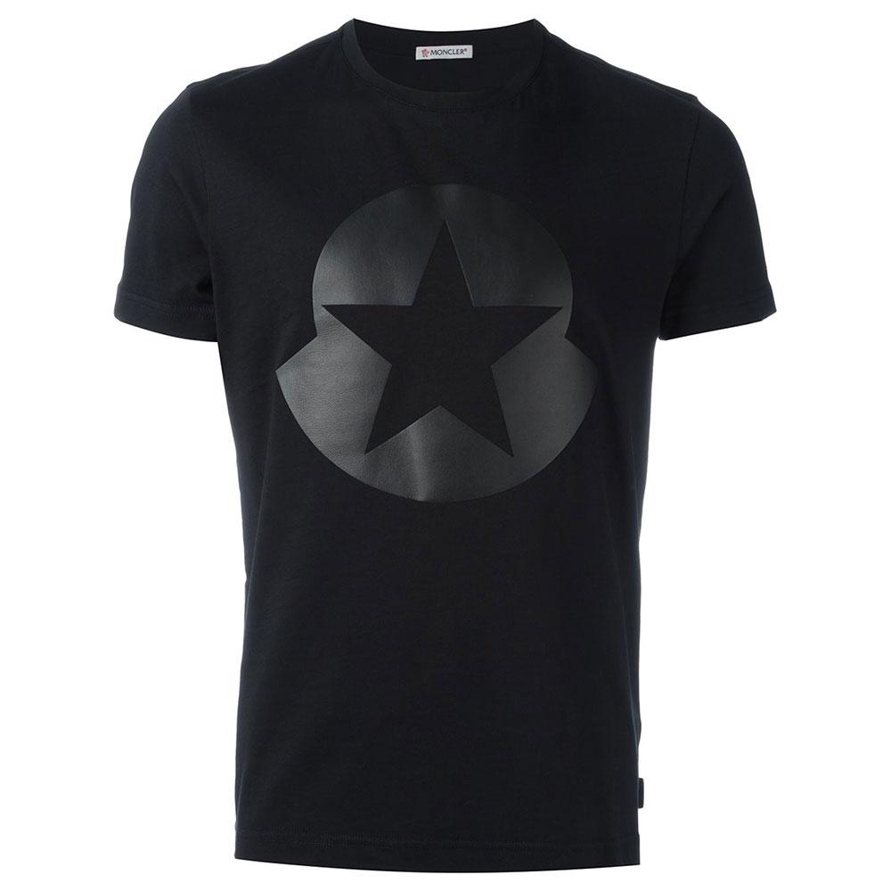 Moncler Star Tişört Siyah - 14 #Moncler #MonclerStar #Tişört