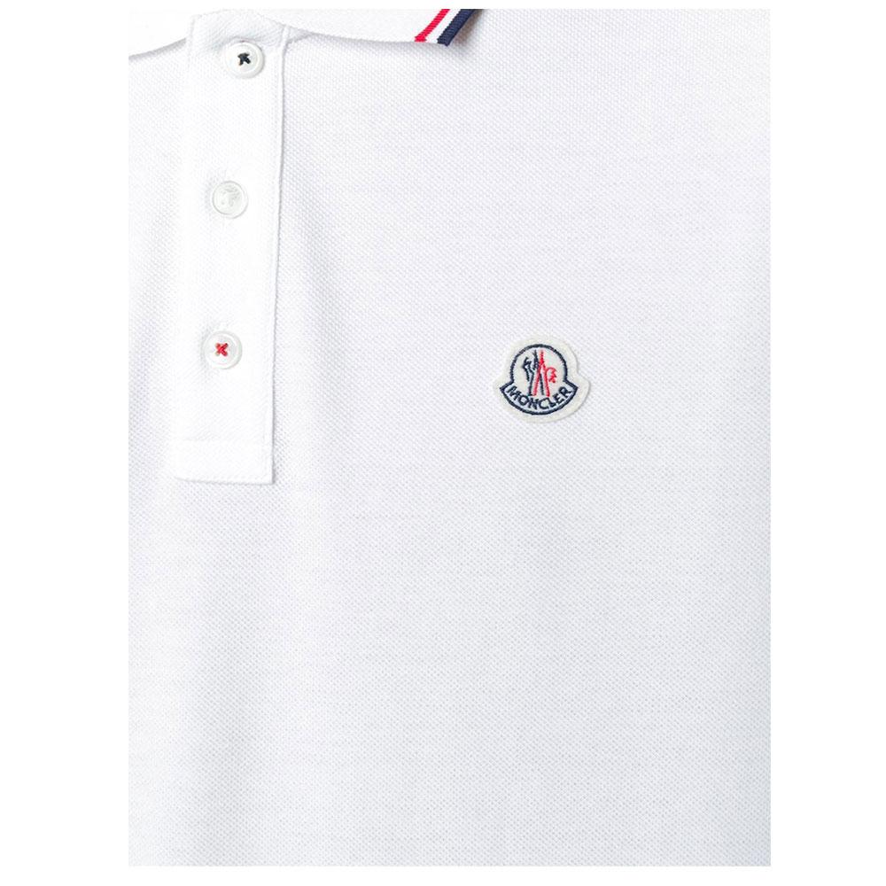Moncler Polo Tişört White - 3 #Moncler #MonclerPolo #Tişört - 2
