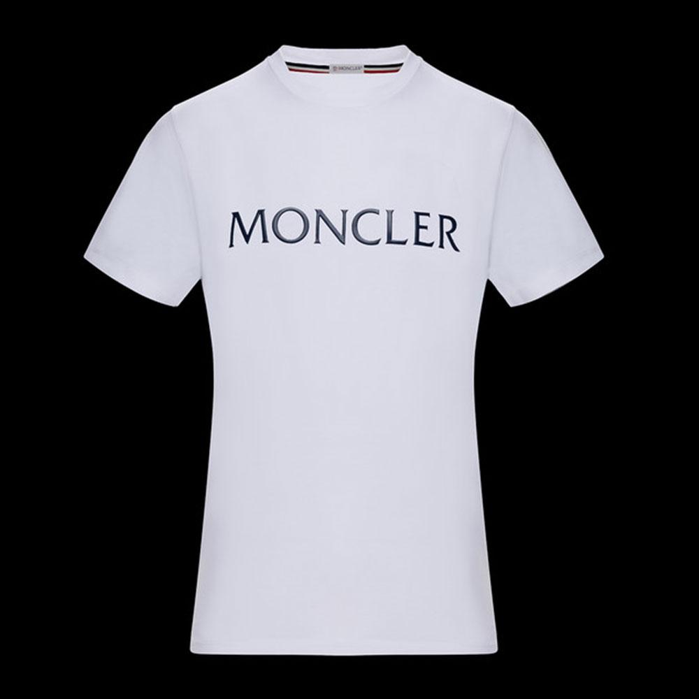 Moncler Logo Tişört Beyaz - 35 #Moncler #MonclerLogo #Tişört