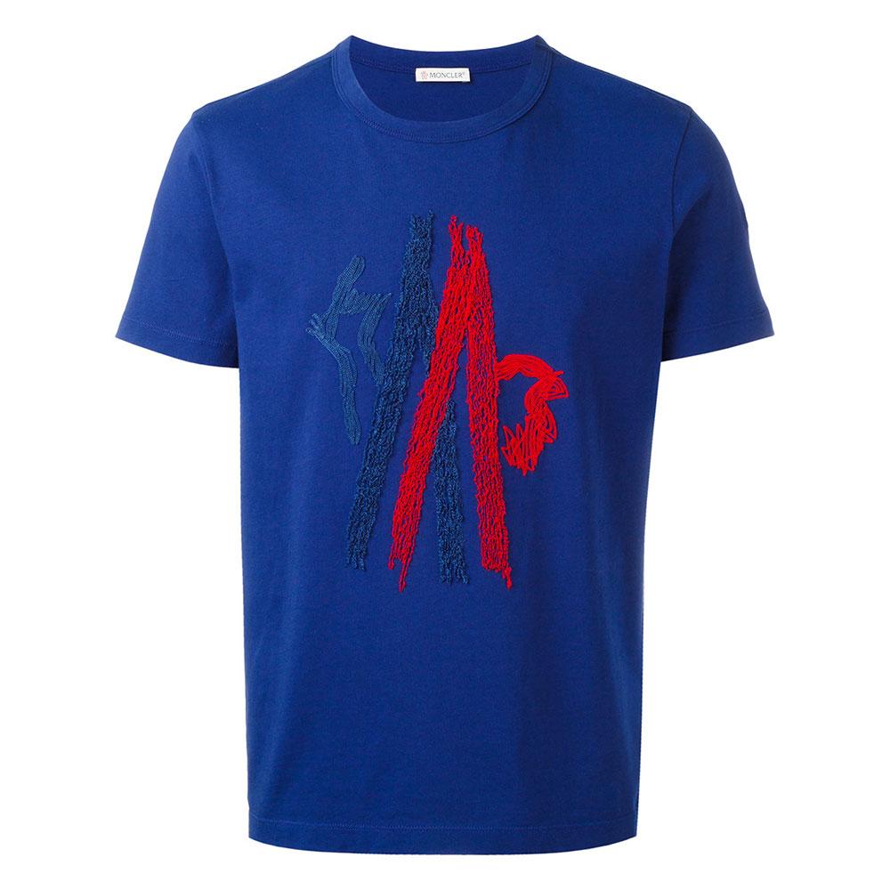 Moncler Graphic Tişört Mavi - 19 #Moncler #MonclerGraphic #Tişört