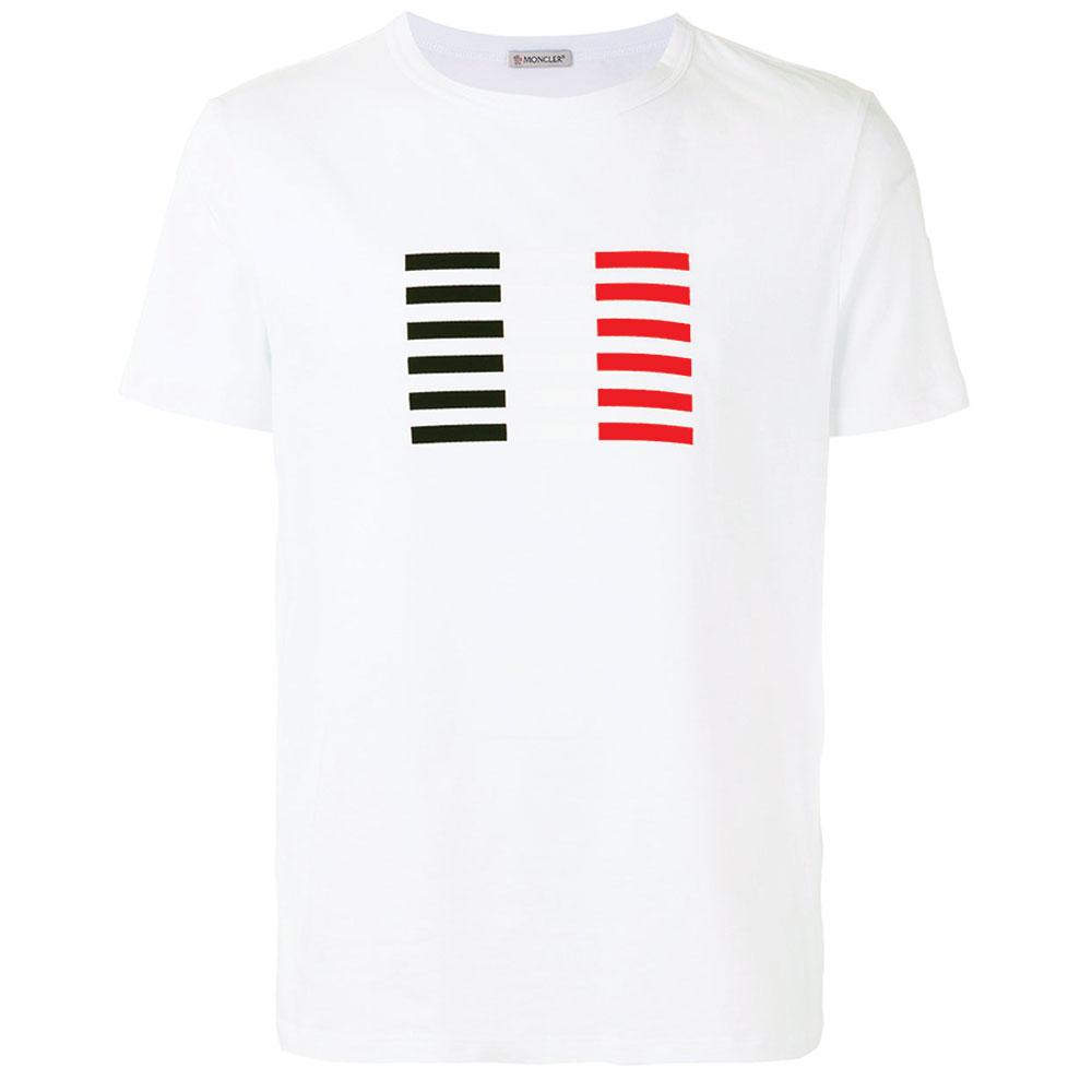 Moncler Logo Tişört Beyaz - 30 #Moncler #MonclerLogo #Tişört