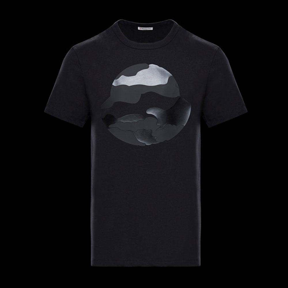 Moncler World Tişört Siyah - 34 #Moncler #MonclerWorld #Tişört