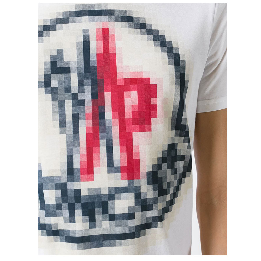 Moncler Pixelated Tişört White - 10 #Moncler #MonclerPixelated #Tişört - 2