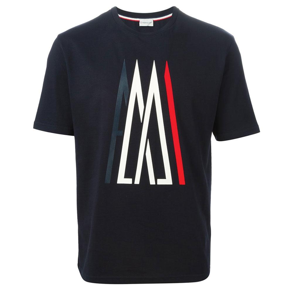 Moncler Logo Tişört Siyah - 33 #Moncler #MonclerLogo #Tişört