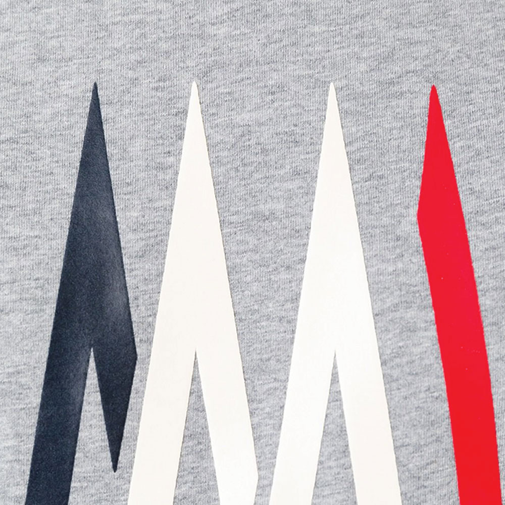 Moncler Logo Tişört Gri - 29 #Moncler #MonclerLogo #Tişört - 2