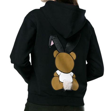 Moschino Sweatshirt Playboy Siyah #Moschino #Sweatshirt #MoschinoSweatshirt #Kadın #MoschinoPlayboy #Playboy